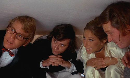 """""""What's Up, Doc?""""  Barbra Streisand, Ryan O'Neal, Madeline Kahn.  -- """" 'Love means never having to say you're sorry.' """"  -- """"That's the stupidest thing I ever heard.""""  Agreed!"""