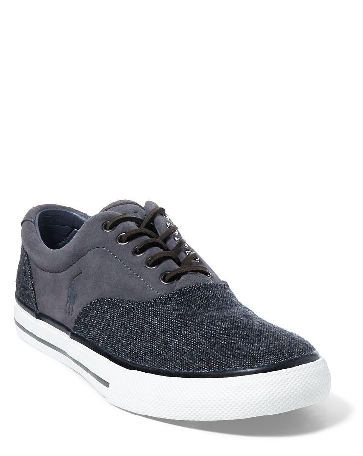 Vaughn Tweed–Suede Sneaker · Ralph Lauren SchuhePolo ...