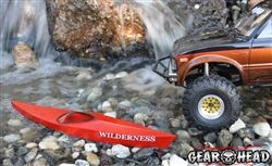 "Gear Head RC 1/10 Scale ""Wilderness Kayak"" Kit"