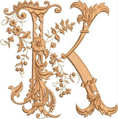 Monograms Machine Embroidery Designs #EmbroideryCraftsProjects