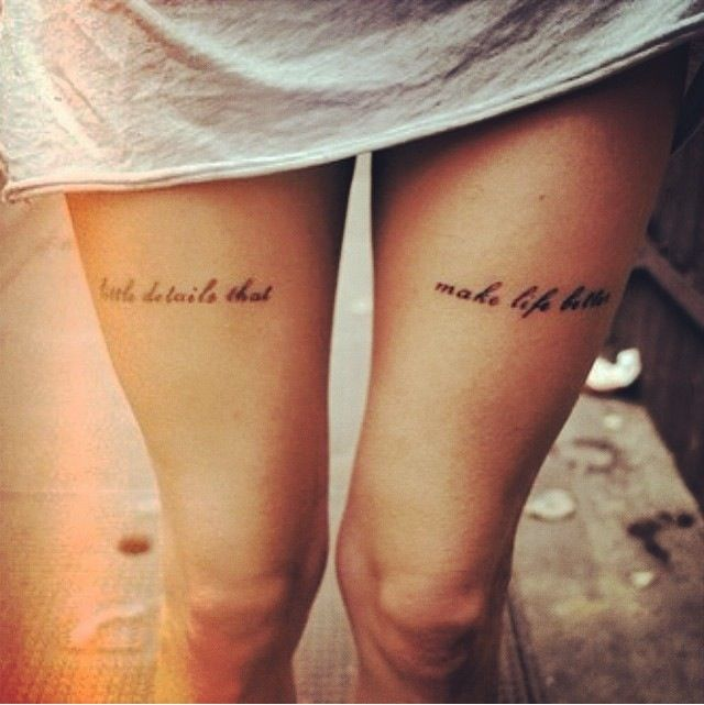 1000 Ideas About Thigh Script Tattoo On Pinterest: 61 Best Images About Tattoo - Thigh On Pinterest