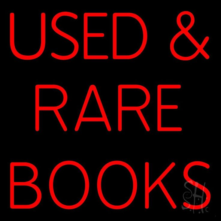 Used And Rare Books Neon Sign 24 Tall x 24 Wide x 3 Deep, is 100% Handcrafted with Real Glass Tube Neon Sign. !!! Made in USA !!!  Colors on the sign are Red. Used And Rare Books Neon Sign is high impact, eye catching, real glass tube neon sign. This characteristic glow can attract customers like nothing else, virtually burning your identity into the minds of potential and future customers. Used And Rare Books Neon Sign can be left on 24 hours a day, seven days a week, 365 days a year...