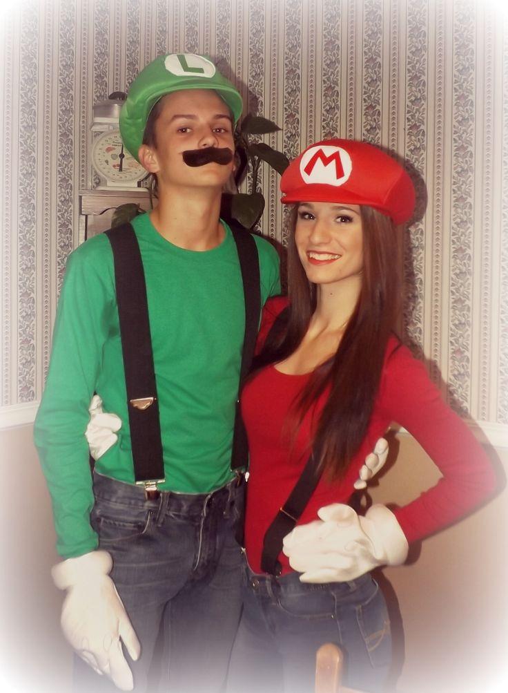 Mario and Luigi couples costume !