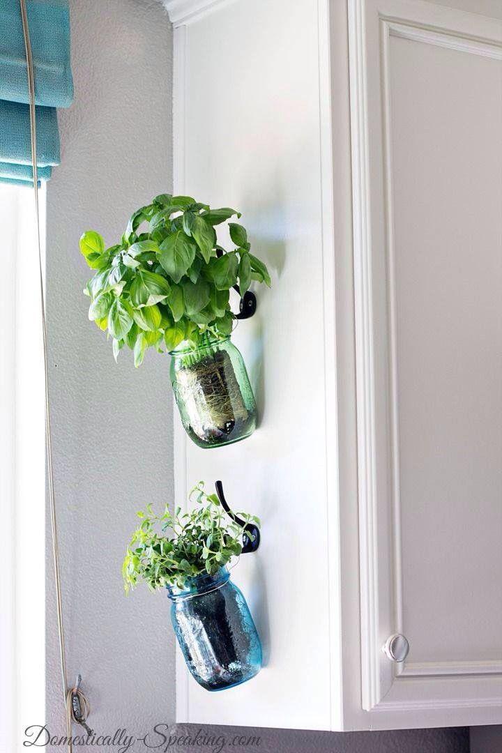 ¿Que hacer con esos botes de vidrio?. Aquí una magnifica idea.
