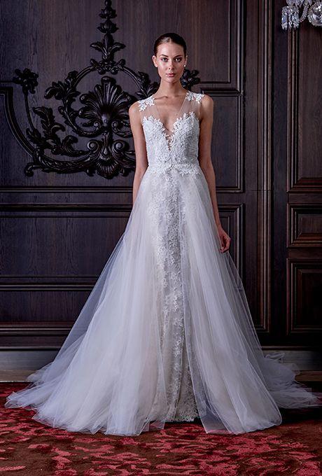 Monique Lhuillier Spring 2016   NY Bridal Week