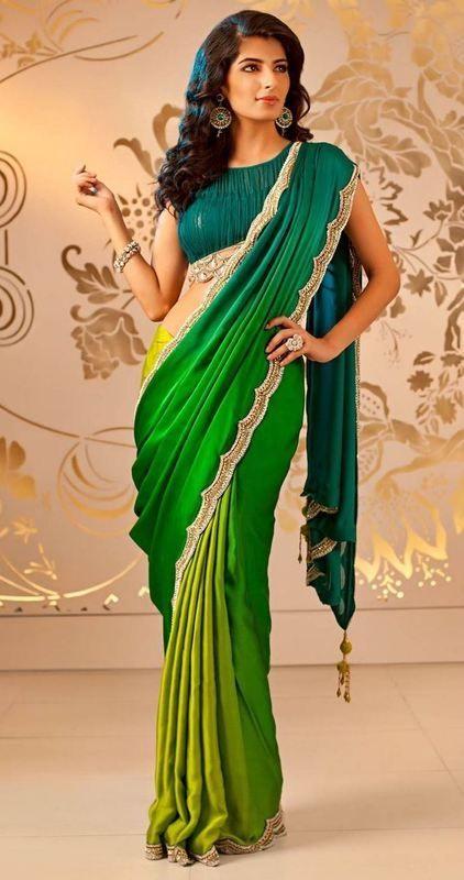 Ombré love. Via Beautiful Indian Brides