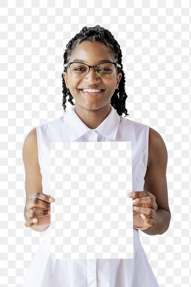 Black Businesswoman Holding A White Document Transparent Png Free Image By Rawpixel Com Mckinsey Business Women African American Women American Women
