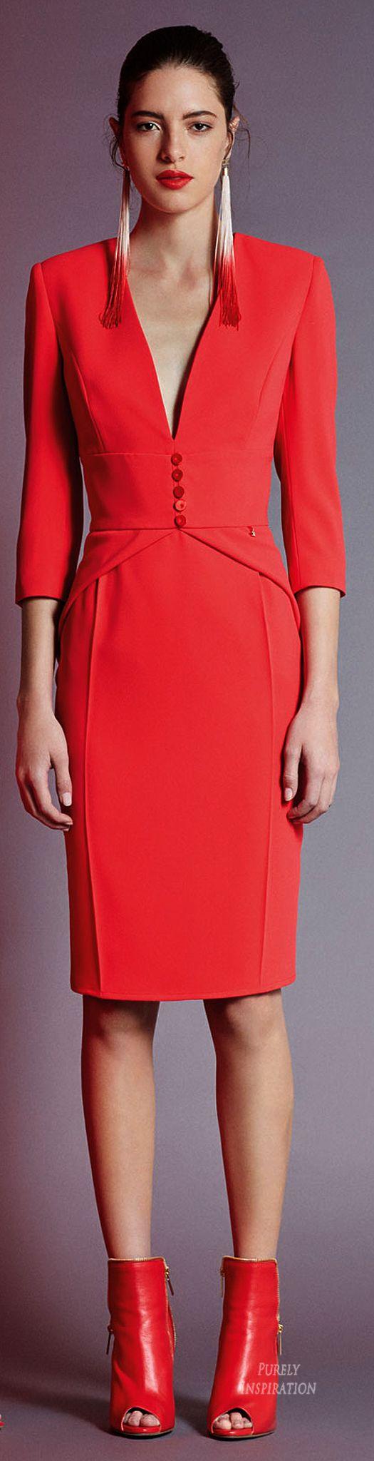 Elisabetta Franchi FW2015 Women's Office  Fashion RTW | Purely Inspiration