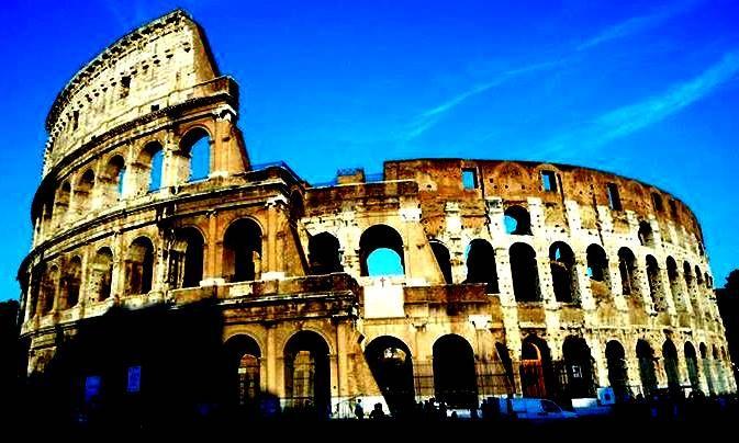 Colloseum, Rome, Italy.