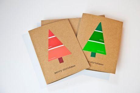 6 inšpirácií na vianočné pohľadnice s deťmi   Tvorivo s deťmi   Vychovávame   Babetko.Rodinka.sk