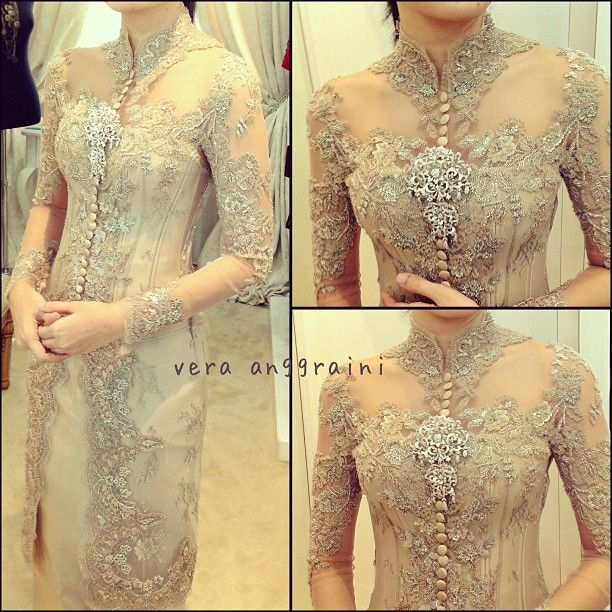 282 Best Images About Beautiful Kebaya Dresses On Pinterest