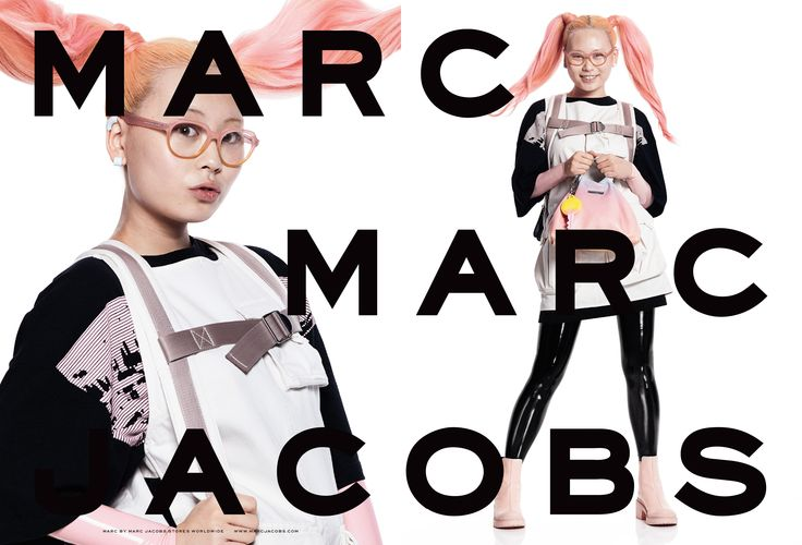 Marc by Marc Jacobs SS15 Ad featuring Kim Eunbi. #castmemarc Photo: David Sims Styling: Katie Grand Hair: Guido Palau Makeup: Diane Kendal