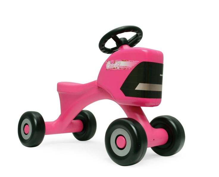 Case IH PINK Sit N Scoot Tractor