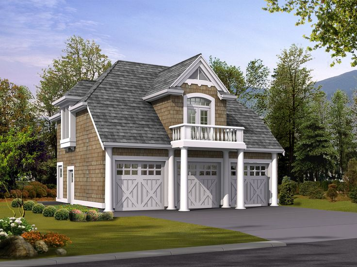 top home over garage. Plan 2394JD  Carriage House Apartment 541 best HOME Garage Apt images on Pinterest Attic Farm house