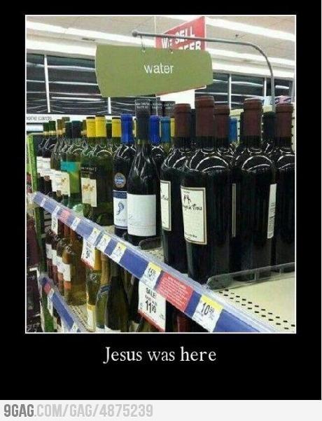 OMG JESUS WAS HERE