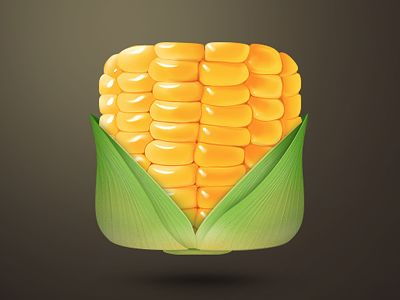 Realistic Icon Corn