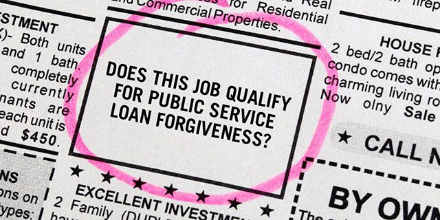 Letter warns Education Department there may be no borrowers eligible for public service loan forgiveness