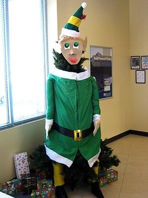 Lone Tree 2012 - Buddy the Elf   Christmas Tree ...