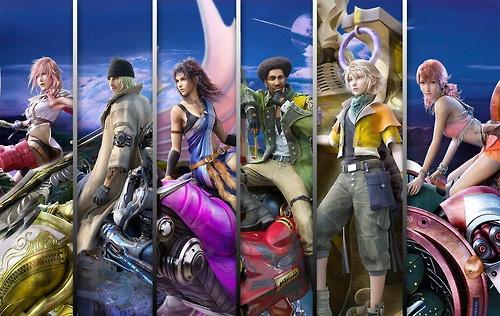 Final Fantasy Xiii Characters XIII characters & ...
