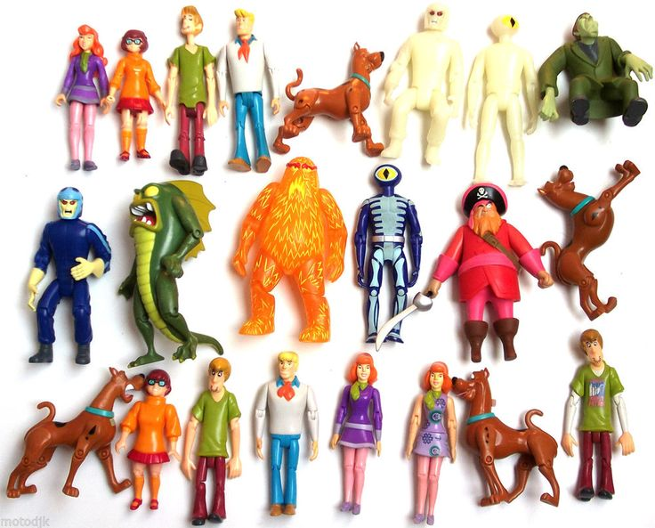 scooby doo friends and foes action figures choose from