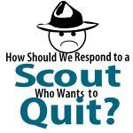 scout quit