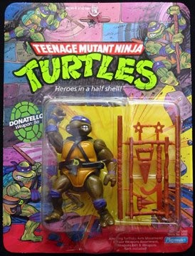 Teenage Mutant Ninja Turtles Action Figures: Donatello