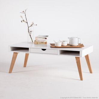 Les 25 meilleures id es concernant table basse avec tiroir sur pinterest ta - Table basse bois avec tiroir ...