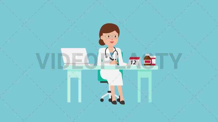 Download: http://ift.tt/2sZqGI7  A female doctor in a white coat with a stethoscope around her neck is sitting at her medical desk where there is a laptop a calendar and some medicine bottles on it  Two version are included: normal (with a start animation) and loopable. The normal version can be extended with the loopable version  Clip Length:10 seconds Loopable: Yes Alpha Channel: Yes Resolution:FullHD Format: Quicktime MOV  For more royalty free video assets visit: https://videoplasty.com
