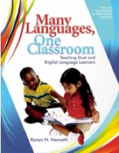 Check out Karen Nemeth's website for dual language support and tips!