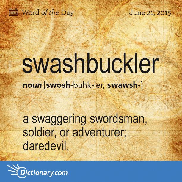 a swaggering swordsman, soldier, or adventurer; daredevil #EugeneFitzherbert