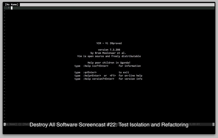 Destroy All Software: Test Isolation and Refactoring https://www.destroyallsoftware.com/screencasts/catalog/test-isolation-and-refactoring