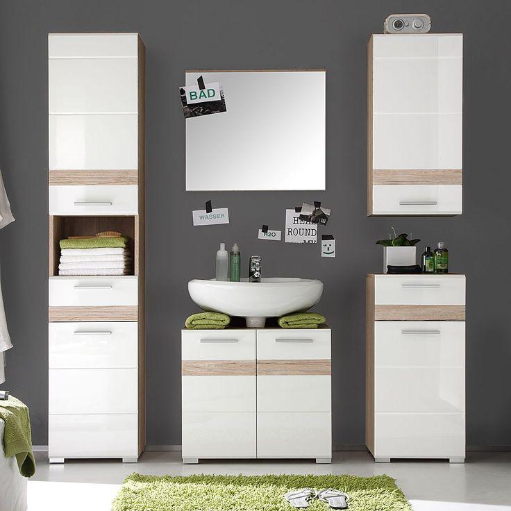 The 25+ best ideas about Waschbeckenunterschrank Weiß Hochglanz on - badezimmermöbel günstig online