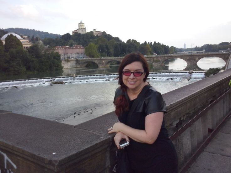Torino is beautiful, but my wife is the prettiest thing in the city.