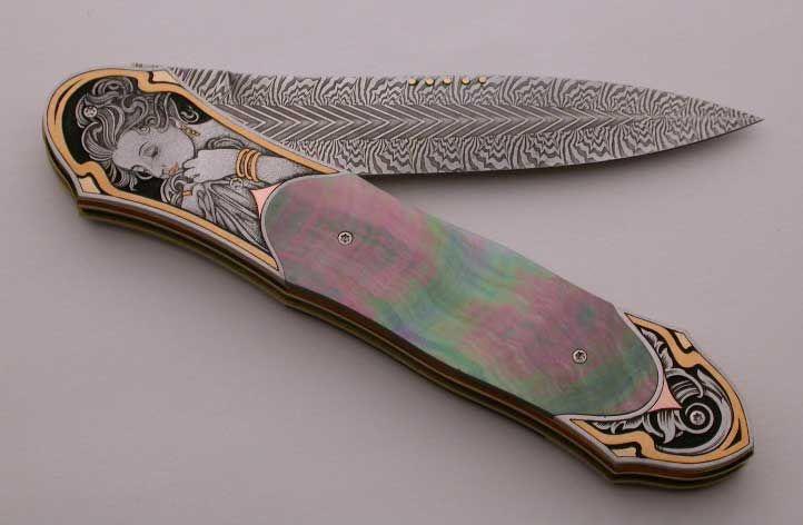Art Nouveau Knife