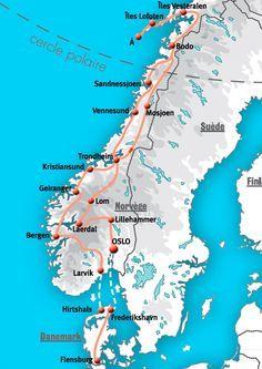 Circuits - Norvège - Voyages & Circuits en camping car et séjours organisés en camping-cars