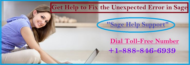 There are some reliable Sage expert support professionals who can help you find the best solution to all the technical errors in your Sage accounting. Contact the expert to deal with the common issue in Sage.