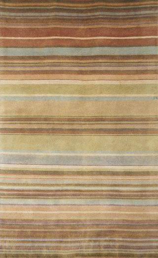 Modernrugs Com Tan Cream Brown Striped Rug Stripes