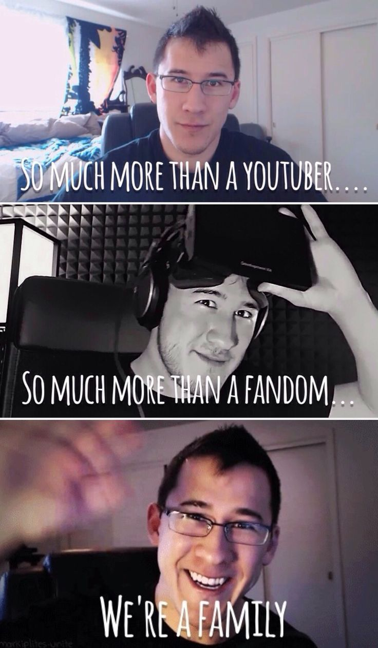 Pin this if you are apart of the Markiplier family.