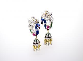 ADE102 - American Diamond Earings