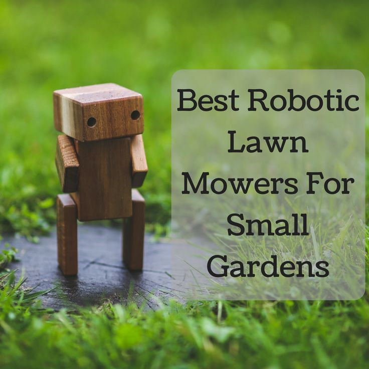 For those that have a small lawn and want to get a robotic lawn mower to do all the dirty work then look no further