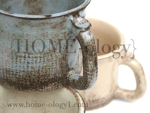 EXCLUSIVE line of Farmhouse Pottery Dinnerware at Primitiques HOME-ology in Berwyn, PA