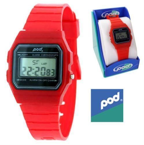 pod - Digital Sports Watch Red     BNIB also available in Orange