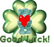 4 Leaf Clover tedy Bear  animated gifs of good luck- shamrock with Teddy bear. CUIDATE, TE <3 BESOSSSSS MUCHOSSS