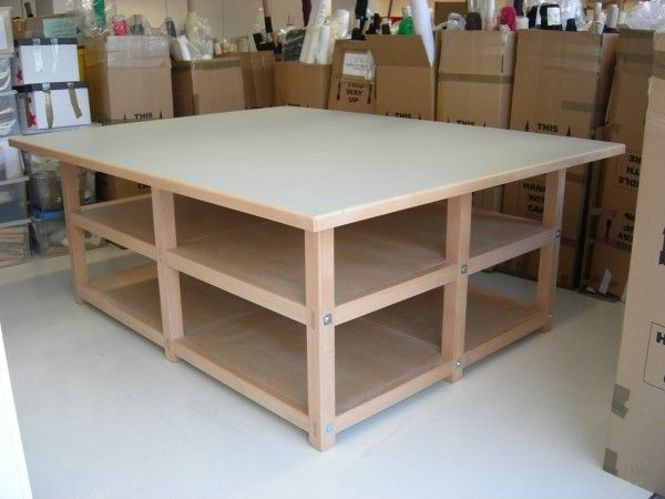 Best 25+ Sewing cutting tables ideas on Pinterest Cutting tables, Sewing rooms and Fabric ...