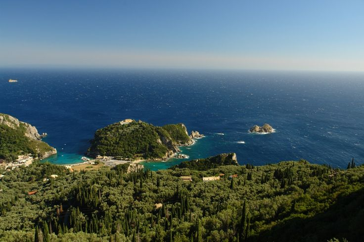Paleokastritsa, View from Lakones