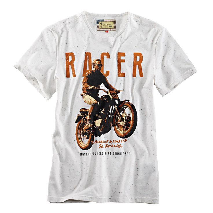 Barbour Steve McQueen T-Shirt Racer Tee