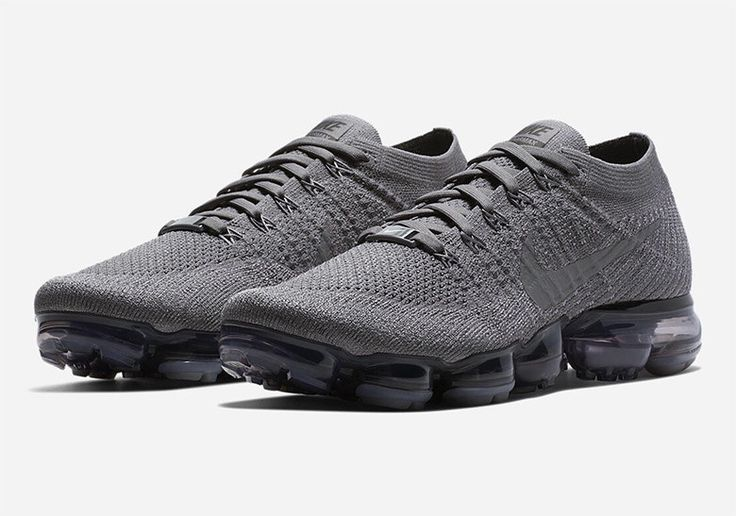 Nike+ account members currently have access to five brand new colorways of the Nike Vapormax that are dressed up with tonal uppers. Fans of the Vapormax have their choice between olive green, navy blue, black,grey, and white adorning their Flyknit uppers with an elastic ankle collar and the customary outsole unit. While the Swoosh continues …