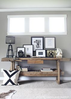 Industrial Home Tour by Design, Dining and Diapers   12 Chic Industrial Decor Ideas for the Home