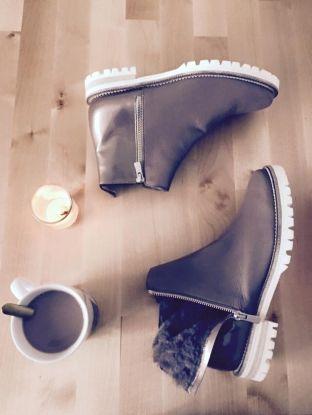 Lookbook Hiver 2015 | Maurice Manufacture - Boots VIRNA doublée mouton