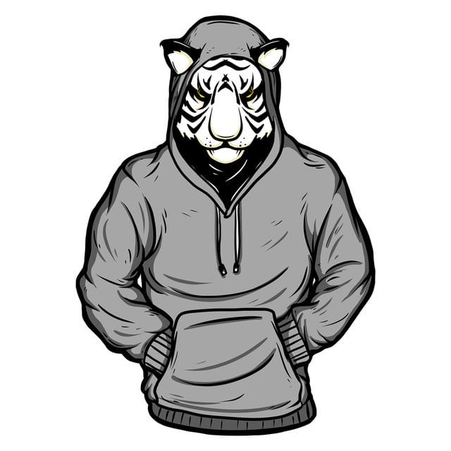 نمر أبيض رسم كاريكتوري تصوير إندي تي شيرت تصميم تي شيرت Png وملف Psd للتحميل مجانا In 2021 Cartoon Illustration Cartoon Outfits Cartoon Styles